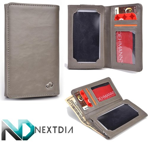 unisex-mens-bifold-wallet-case-huawei-activia-4g-universal-fit-spanish-grey-with-viewing-screen-nd-c