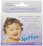 Spiffies Toothwipes, Grape Flavor,  20 Count, (Pack of 6)