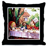 Alice in Wonderland Decorative Throw Pillow, 18