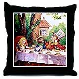 Alice in Wonderland Decorative Throw Pillow, 18
