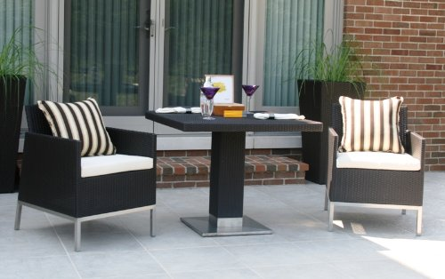 The Winston Collection All Weather Wicker Patio Furniture Dining Set