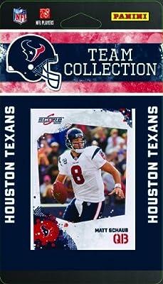 NFL Houston Texans Licensed 2010 Score Team Set