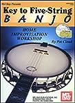 Key to Five-String Banjo  Book/CD Set...