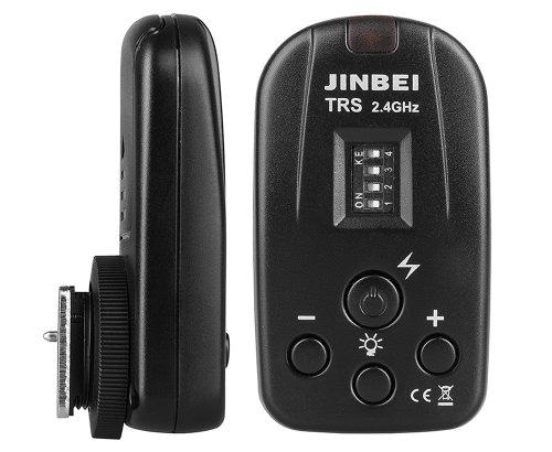 Phorex jinbei tRS de commande à distance pour flash et continu avec réglage de la puissance et griffe iSO standard