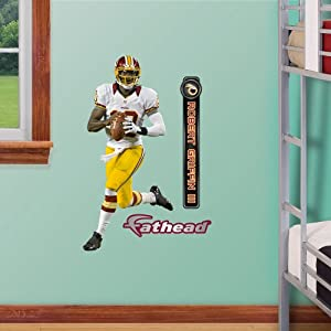 NFL Washington Redskins Robert Griffin III Junior Wall Graphics by Fathead