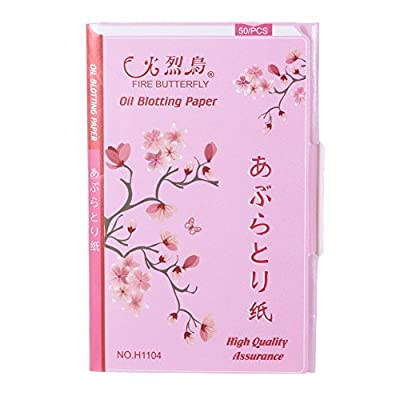 Five Season Cosmetic Accessory Blotting Paper Oil Control Tissue 50pcs with Red Box