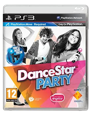DanceStar Party - Move Required (PS3) by Sony Computer Entertainment