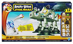 Hasbro A2373E24 - Angry Birds Star Wars AT-AT Abschuss-Spiel