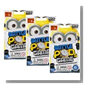 Set of 3 Despicable Me 2 Minion Battle Pods Mini-Figure Blind Bags Minions Vary