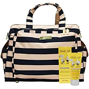 Bundle -2 Items:Ju-Ju-Be Be Prepared Diaper Bag - Legacy The First Mate & Bella B Honey Bum 2 oz from Ju-Ju-Be & Bella B