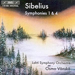 Sibelius: Symphonies Nos. 1 and 4
