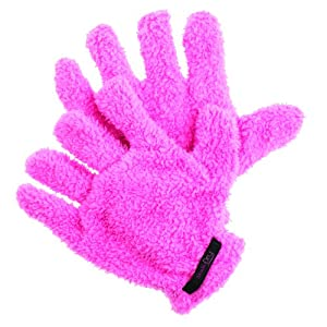 Upper Canada Soap Studio Dry Hair Gloves for Curly Hair, Black, 2.2 Ounce
