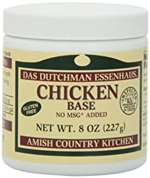 Essenhaus Soup Base, Chicken, 8-Ounce (Pack of 6)