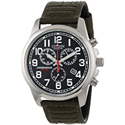 Đồng Hồ Nam Citizen AT0200-05E Eco-Drive Chronograph Canvas Watch
