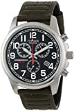 Citizen Men's AT0200-05E Eco-Drive Chronograph Canvas Watch