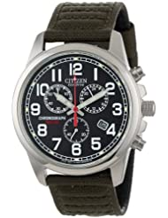 Citizen AT0200 05E Eco Drive Chronograph Canvas