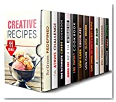 Creative Recipes Box Set (11 in 1): Ice Cream, Atkins, Crepe, Ketogenic, Foil Packet, Low Carb, Dump Dinner, 5 Ingredients and Pizza Recipes for You and Your Family (Cleanse and Detox)