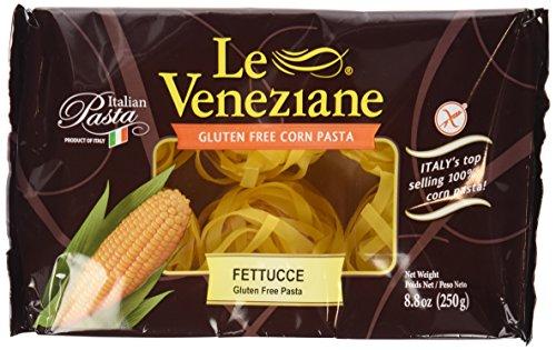 Le Venezian - Italian Fettucee [Gluten Free] (4) - 8.8 Oz Pkgs (La Veneziane Pasta compare prices)