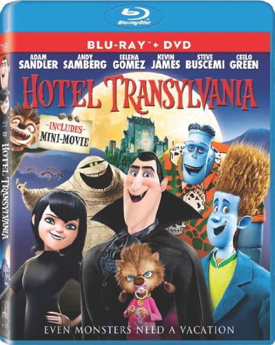 Hotel Transylvania (Blu-ray / DVD + UltraViolet Digital Copy) (Hotel Transylvania Blu compare prices)