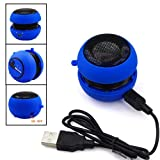 BLUE MINI PORTABLE SPEAKER FOR APPLE IPHONE 4/4S FROM GB ONLINE SALES - FREE UK DELIVERY