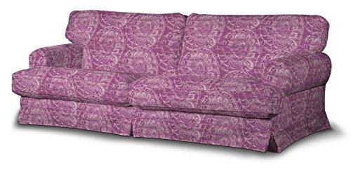 FRANC-TEXTIL 666-143-07 Ekeskog funda sofá no plegable, no plegable Ekeskog, Mirella, rosa oscuro