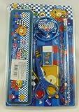 Set de escritorio - Teddy Bear (azul) Diseño-