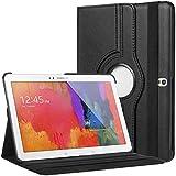"""Bingsale 360° Housse en cuir pour Samsung Galaxy Tab Pro 10.1 SM-T520 SM-T525 Tablette tactile 10,1"""" (25,65 cm) avec rabat/stand de positionnement support et le sort de veille (samsung galaxy tab pro 10.1, noir)"""