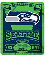 NFL Fleece Marque Throw Blanket (50 Inches by 60 Inches)