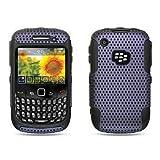 Protector Apex Hybrid 2 en 1 para Blackberry Curve 8520 / 8530 / 9300 / 9330 3G, color morado.