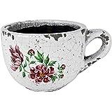 Ivyline 108661P Vintage Peony Teacup - Pink