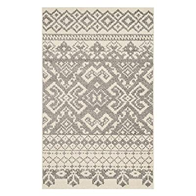 Safavieh Adirondack Collection ADR107A Silver and Black Area Rug