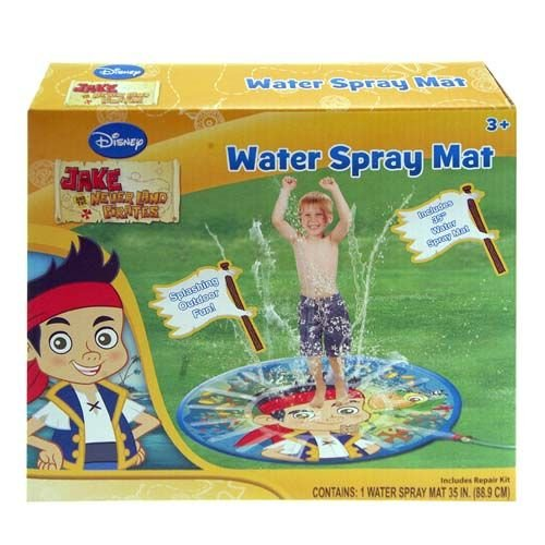 "Water Spray Mat - Disney - Jake & The Neverland 35"" (Summer Swimming Game)"