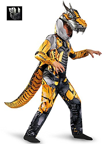 Disguise Transformers Age of Extension Grimlock Deluxe Boys Costume