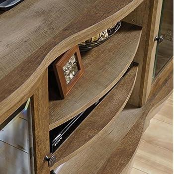 Sauder Regent Place TV Stand in Craftsman Oak