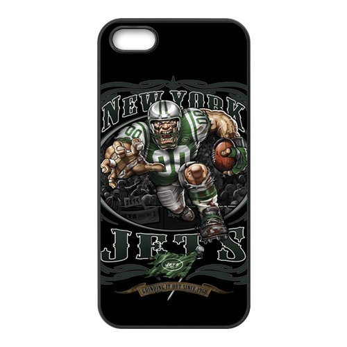 NFL New York Jets Team Iphone5 Popular With Fans Best RUbber Cover Case by Creative House at Amazon.com