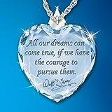 Magic Of Disney Heart Pendant Necklace by The Bradford Exchange