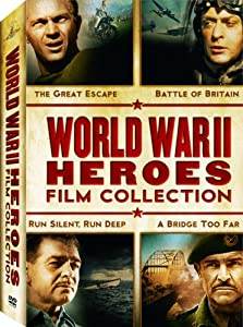 World War II Heroes Film Collection (Run Silent, Run Deep / The Great Escape / A Bridge Too Far / The Battle of Britain)