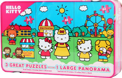 Hello Kitty Puzzle--Panorama 3 in 1