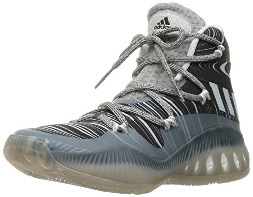 (click photo to check price). 4. adidas Performance Men's Crazy Explosive  Basketball Shoe, White/White/Mgh Solid Grey ...