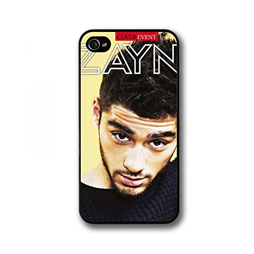One Direction 1D Uk Zayn Malik Tour Cd Ticket Case Haroshop Case - Iphone 4 4S - Black Case - Zayn 07