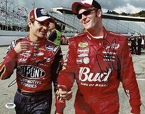 Dale Earnhardt Jr. & Jeff Gordon Signed 11x14 Photo #w46303 - PSA DNA Certified -... by Sports Memorabilia