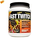 CytoSport Fast Twitch Power Workout Drink Mix, Knock-Out Orange 2.04 lb (920 g)