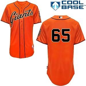 Steve Edlefsen San Francisco Giants Alternate Orange Authentic Cool Base Jersey by... by Majestic