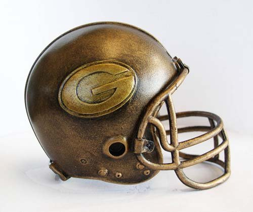 NFL Green Bay Packers Desktop Helmet Statue at Amazon.com