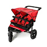Out n About Nipper Double v4 Stroller Carnival Red