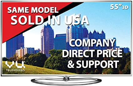 Vu LED55XT780 55 Inch Ultra HD Smart 3D LED TV