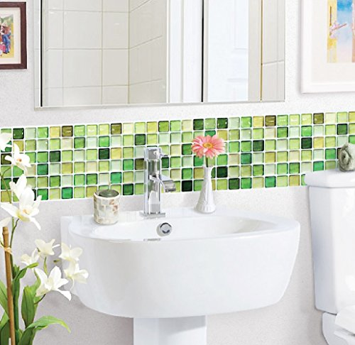 Lime green bathroom accessories and ideas for Bathroom decor green walls