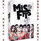 Misfits - Series 1-3 (Original Uncut British Version) [NON-U.S.A. FORMAT: PAL Region 2 U.K. Import] (Misfits Season 1/2/3)