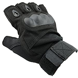 AccessoryStation® Fashion Green Outdoor Sports Military Tactical Airsoft Hunting Riding Cycling Half-finger Gloves (Size: M) from AccessoryStation