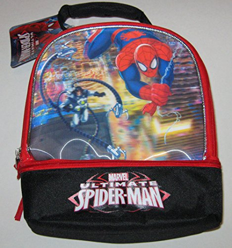 Marvel Ultimate Spider-Man 3D Holographic Lunch Tote - 1